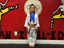 04/26/2015 Presidential Cup TKD Championship  David Duran  2nd Place Forms  3rd Place Breaking 1st Place Weapons 1st Place Sparring