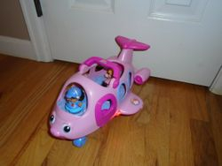 Fisher Price Little People Lil' Movers Airplane - $10