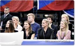 Ester Berdych Satorova, Martina Cechova, Ivana Havlatova and Veronika Koprivova