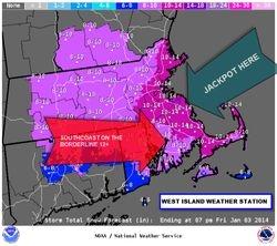 Jan 2, 2014 Snow Map
