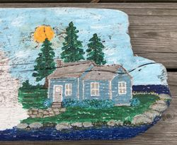 Lake House scene