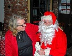 Jeannie with Santa