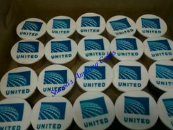 United Airlines Anniversary Cupcakes