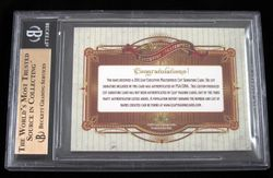 CY YOUNG Signed LEAF EXECUTIVE COLLECTION MASTERPIECE 1/1 PSA DNA