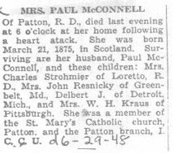 McConnell, Mrs. Paul 1948