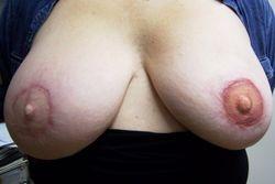 Tracy's tattoo nipple restoration ~ 1st one