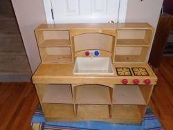 Korners for Kids Solid Wood Kitchen - $100