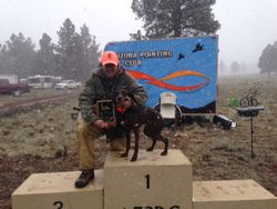 Holly 1st Place Utah Trial