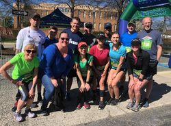 March 2019 - Team GRC running the Beerun
