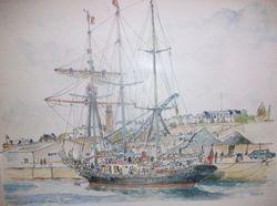 BREST Le MALCOM MILLER au port de commerce