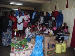Food Distribution at Ophanage