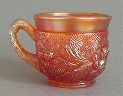 Acorn Burrs punch cup, marigold