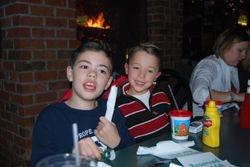 Ryan Smith and Peyton Smith