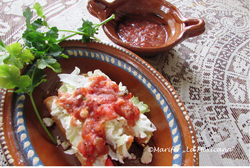 knusprige Poulet Tacos