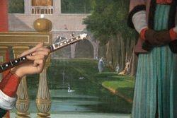 Ingres, Odalisque, detail, Walters Gallery