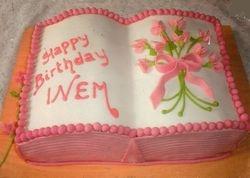 Book cake2 (B114)