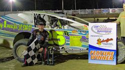 Erick Rudolph wins at Old Bradford Speedway June 11,2017