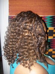 Micros with sew-in Weave