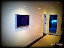 "48"" flat screen tv installation"
