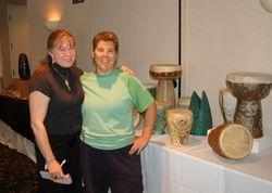 Marsha Judd and Melanie Donegan
