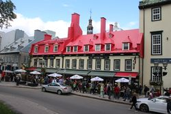 Restaurant near Chateau Frontenac