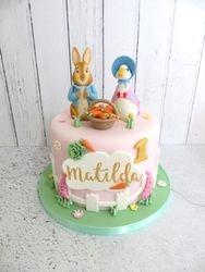 Matilda's First Birthday Cake