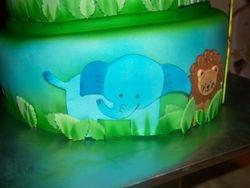 Fondant Animal Cake