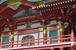 Temple Gate Detail 1, Japanese Tea Garden