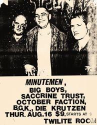 1984-08-16 Twilight Room, Dallas, TX