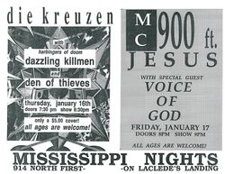 1992-01-16 Mississipi Nights, St. Louis, MO