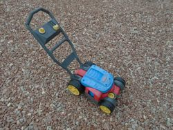 Fisher Price Bubble Mower - $10