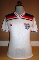 Admiral match worn aertex 1982 world cup