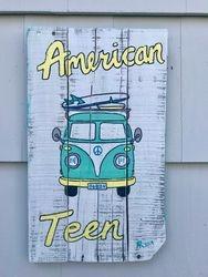 VW Van Sign