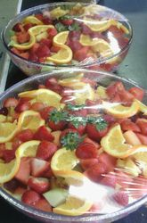 Fruit Bowls w/a Twist Ready for Delivery