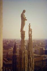 451 Cathedral spires Milan
