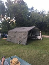 Our command tent.