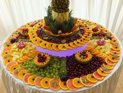 Fruit Display to serve up to 700 guest