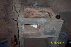 Installation of water heating heat exchanger