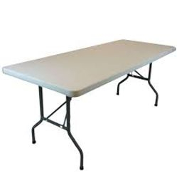 8' Plastic Table @ @10.00 ea