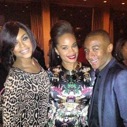 Demetria McKinney, Mylah & Victor Jackson at the ASCAP R&B Soul ATL Legends Mixer at the W Atlanta - Midtown
