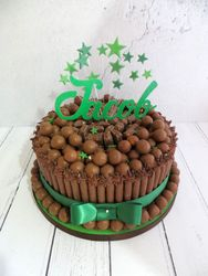 Jacob's chocolate malteser cake