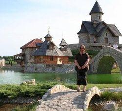 Me in Bosnia