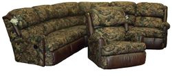 #4000 Sectional & #4287 Recliner Palance Sable - Harvest