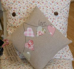 Handmade cushions and accessories