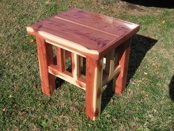 Red Cedar Table