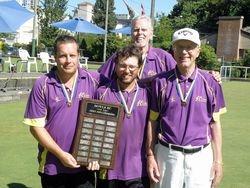 Provincial Men's Pairs finalists
