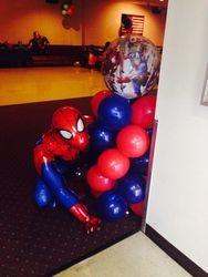 Spiderman Airwalker w/column