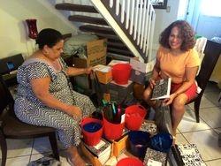 Minerva Sencion Gil y Flory Gomez