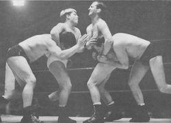 Vic Faulkner Bert Royal, Frankie Hughes and Tug Holton