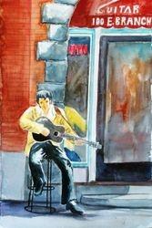 Elvis at Lighting Joe's Guitar Heaven